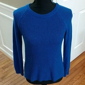 Royal blue SO brand sweater, medium